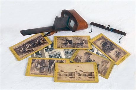 Antique Stereo Picture Viewer