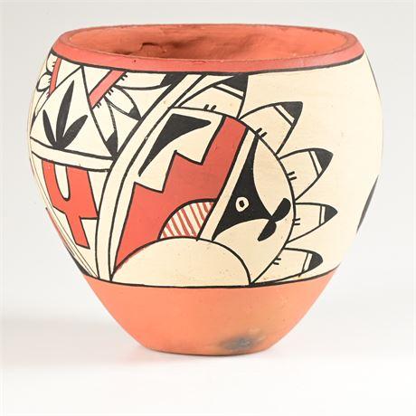 Jemez Pueblo Pottery By R.Fragua