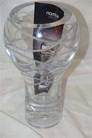Nambe Crystal Vase