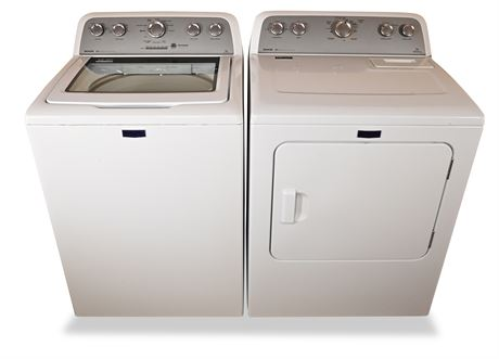 Maytag Bravos MCT Washer and Dryer
