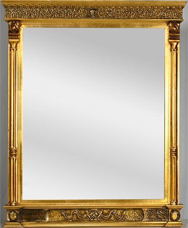 American Empire Gilded Mirror