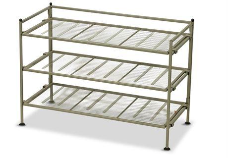 Metal Shoe Shelf