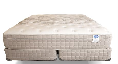 Spring Air Abigail King Mattress Set