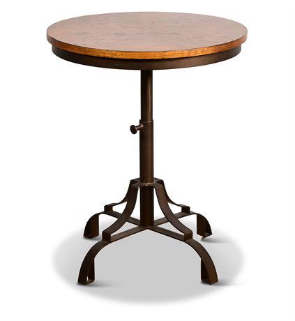 FlexSteel Adjustable Height Side Table