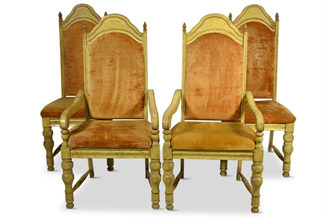Mid-Century Gothic Revival Seating