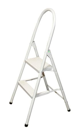 Aluminum Two-Step Step Stool