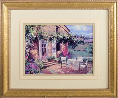 Countryside Terrace By Allayn Stevens