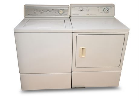 Amana Commercial Quality Washer and Dryer