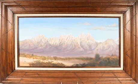 Organ Mountain Landscape by: Hank Maynard