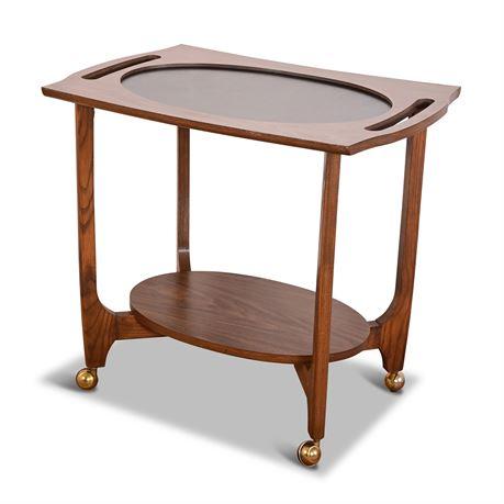 Mid-Century Rolling Bar/Tea Cart