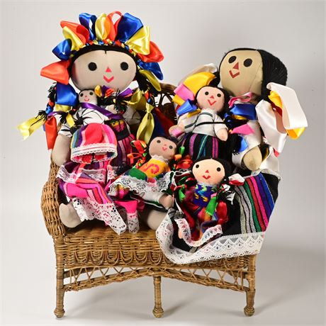 Folk Art Dolls from Mexico