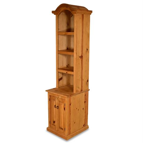 Rustic Tower Bookcase