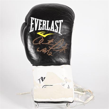 Trout vs. Rodriguez, Austin Trout Autographed Glove