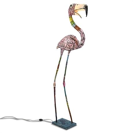Flamingo Lamp by John Richards