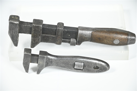 Ca. 1900 Monkey Wrenches