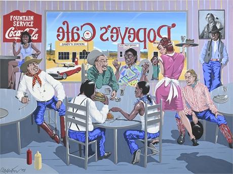 "Robert McMurtry ""Popeye's Cafe"""