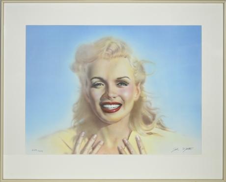 """Portrait of Marilyn"" by John Mattos"