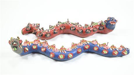 Mexican Folk Art Key Hooks