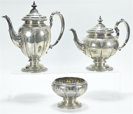 "STERLING Towle ""Royal Windsor"" Tea & Coffee Set"