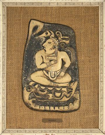 """""""Chalchiuhtlicue"""" Aztec Water Goddess"""