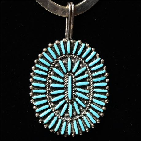 Zuni Needle Point Pendant