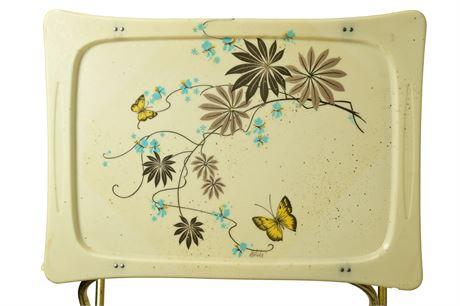 Vintage Lavada Fiberglass TV Trays