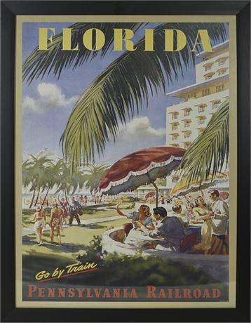 Pennsylvania Railroad Advertisement Florida