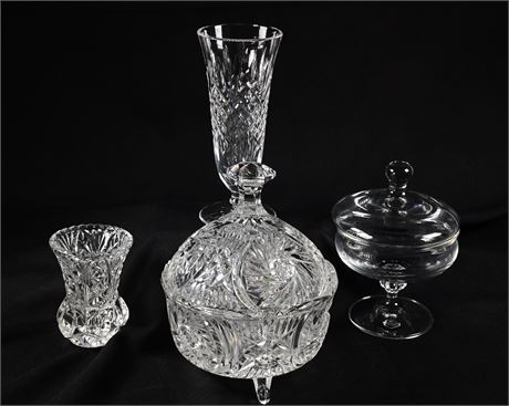 Vintage Glass and Crystal