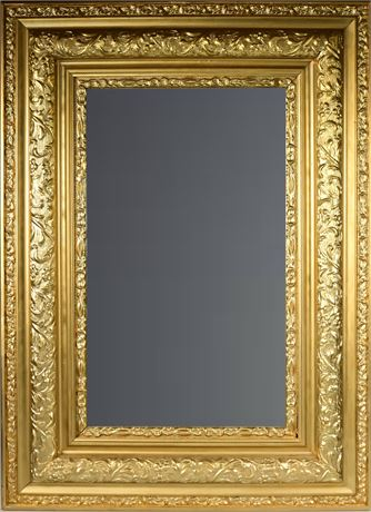 Antique Mirror with Gilded Frame