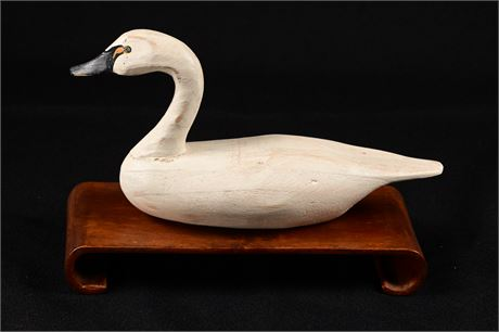 Dick Robinson Carved Swan