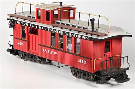 LGB - Lehmann #4075 Denver Rio Grande Western D&RGW Caboose