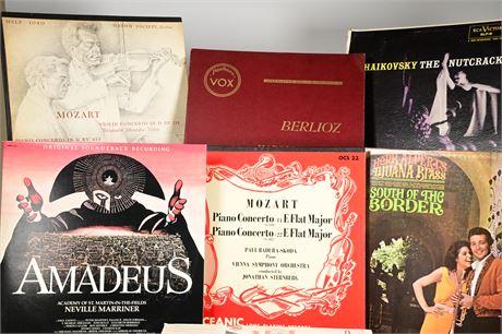 (20) Classical 33 RPM Records