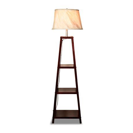 Shelved Floor Lamp