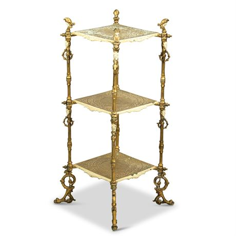 Edwardian Tiered Plant Stand