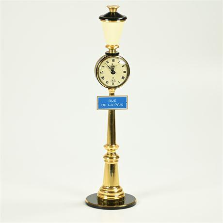 Jaeger Le Coultre-Rue De La Paix 8 Day Mantel Clock