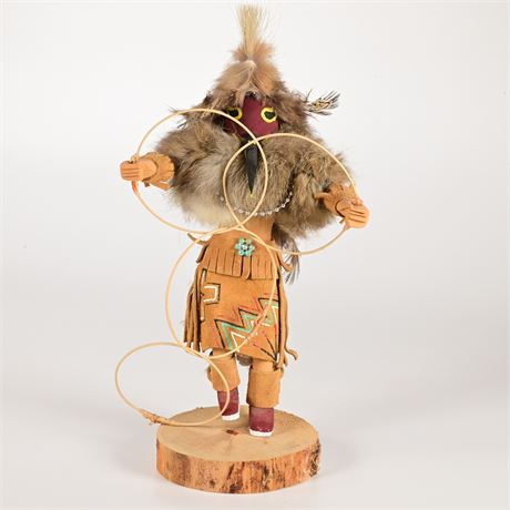 Vintage Hoop Dancer Kachina