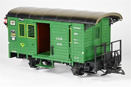 LGB - Lehmann G-Scale # 3019N Postal Car