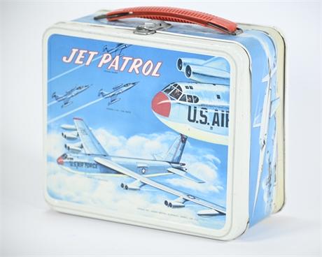 Vintage Jet Patrol Lunch Box