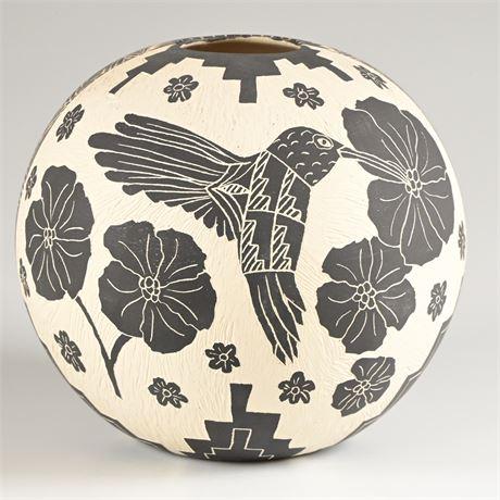 Acoma Pueblo Pottery By Shdiya'aits'a