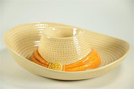 Metlox Sombrero Chip and Dip