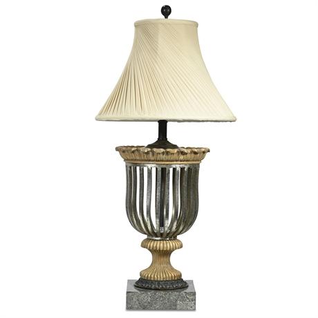 Elegant Stone Clad Lamp