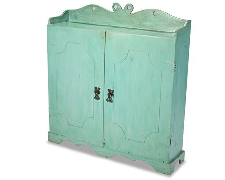 Rustic Two Door Cabinet