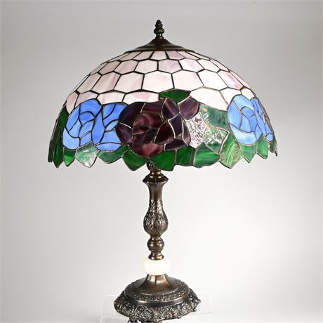 Stain-Glass Lamp