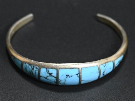 Inlaid Turquoise Bracelet