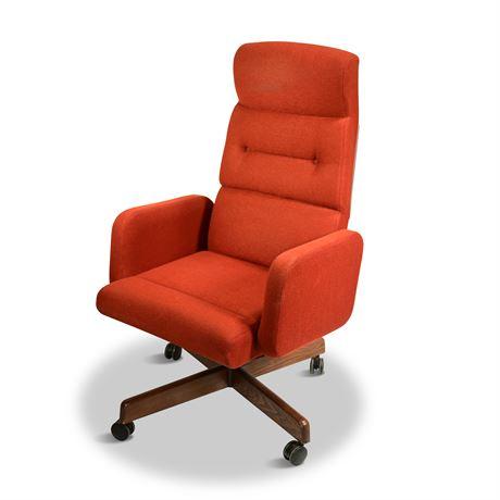 Mid-Century Reclining Office Chair