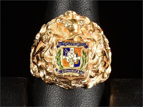 18k Gents Ring