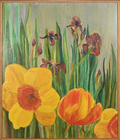 "Bee Walsh  Original : ""Poppy Passion"""