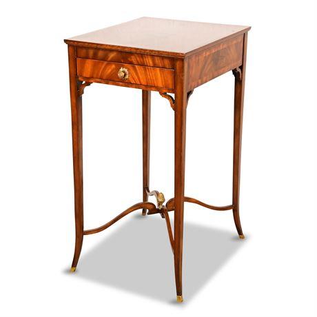 Maitland Smith Mahogany Side Table
